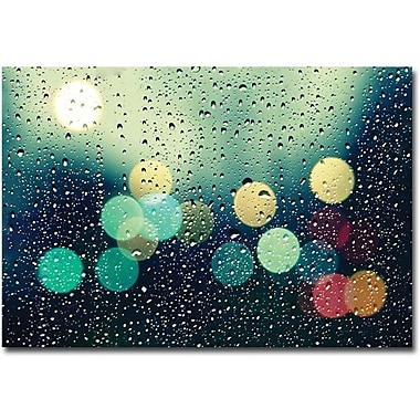 Trademark Global Beata Czyzowska Young in.Rainy Cityin. Canvas Art, 30in. x 47in.