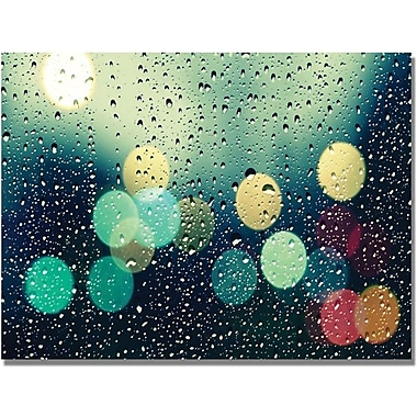 Trademark Global Beata Czyzowska Young in.Rainy Cityin. Canvas Art, 18in. x 24in.