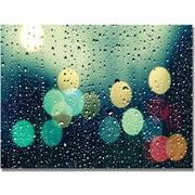 """Trademark Global Beata Czyzowska Young """"Rainy City"""" Canvas Art, 18"""" x 24"""""""