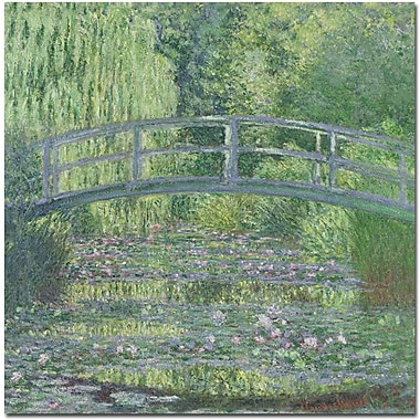 Trademark Global Claude Monet in.The Waterylily Pond, 1899in. Canvas Arts