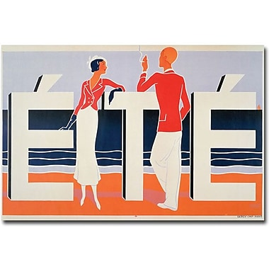 Trademark Global M.E. Caddy in.Ete, 1925in. Canvas Art, 16in. x 24in.