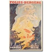 "Trademark Global Jules Cheret ""La Danse du Feu, 1897"" Canvas Art, 47"" x 30"""