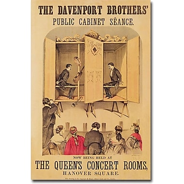Trademark Global in.The Davenport Brothers 1865in. Canvas Art, 47in. x 30in.