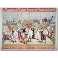 Trademark Global in.Barnum and Bailey Greatest Show on Earthin. Canvas Arts