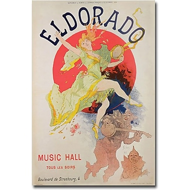 Trademark Global Jules Cheret in.El Dorado, 1836in. Canvas Arts