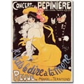 Trademark Global in.Concert de la Pepiniere 1902in. Canvas Arts