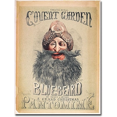 Trademark Global Matthew Morgan in.Blue Beard, 1860in. Canvas Art, 47in. x 35in.