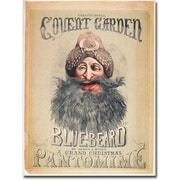 "Trademark Global Matthew Morgan ""Blue Beard, 1860"" Canvas Art, 47"" x 35"""