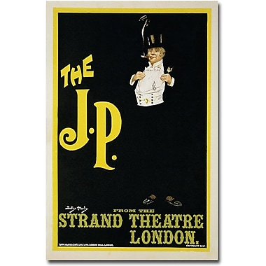 Trademark Global Dudley Hardy in.The J.P. at the Strand Theater, 1898in. Canvas Arts