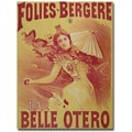 Trademark Global Bataille in.Le Belle Otero, 1894in. Canvas Arts