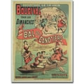 Trademark Global in.Le Bai des Canotiers at Bougival, 1875in. Canvas Arts