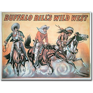 Trademark Global in.Buffalo Bill's Wild West Show, 1898in. Canvas Arts