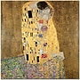 Trademark Global Gustav Klimt the Kiss 1907 8