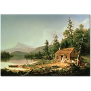 Trademark Global Thomas Cole Home in the Woods, 1847 Canvas Art, 30 x 47