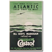 Trademark Global Castrol Oil, 1938 Canvas Art, 47 x 30