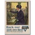 Trademark Global Clarence Underwood in.Back Our Girls Over There, 1918in. Canvas Arts