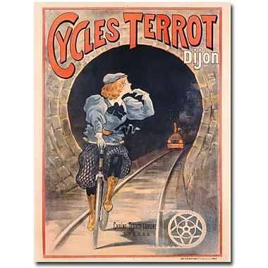 Trademark Global in.Cycles Terrot 1900in. Canvas Arts
