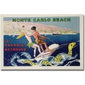 Trademark Global Georges Goursat in.Monte Carlo Beach 1932in. Canvas Arts