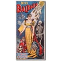 Trademark Global in.Miss Baldwin A Modern Witch of Endor 1888in. Canvas Art, 47in. x 24in.