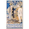 Trademark Global Eugene Grasset in.A La Place Clinchy, 1890in. Canvas Art, 47in. x 24in.
