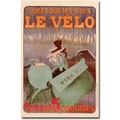 Trademark Global Ferdinand Misiti in.Le Velo 1899in. Canvas Art, 47in. x 30in.