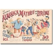 Trademark Global in.Almanach Mathieu de la Drome, 1888in. Canvas Art, 16in. x 24in.