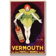 "Trademark Global Jean d'Ylen ""Fatelli Branca Vermouth, 1922"" Canvas Arts"