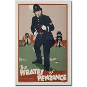 "Trademark Global ""The Pirates of Penzance, 1930"" Canvas Art, 24"" x 16"""