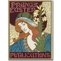 Trademark Global Louis Rhead in.Prang's Easters Publications, 1896in. Canvas Arts