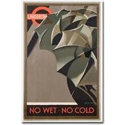 """Trademark Global Manner """"London Underground, 1929"""" Canvas Art, 47"""" x 30"""""""
