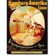 "Trademark Global Felix Schwormstadt ""Pleasur Cruise on the Sea, 1904"" Canvas Arts"
