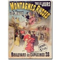 Trademark Global in.Montagnes Russes, 1888in. Canvas Arts