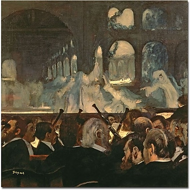 Trademark Global Edgar Degas in.Robnert le Diable 1876in. Canvas Arts