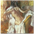 Trademark Global Edgar Degas in.Woman Drying Herself 1888 92in. Canvas Arts