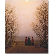 "Trademark Global Caspar David Friedrich ""Easter Morning, 1833"" Canvas Art, 32"" x 26"""