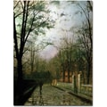 Trademark Global John Atkinson Grimshaw in.After the Showerin. Canvas Arts