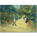 Trademark Global Vincent van Gogh in.Public Gardens in Arles 1888in. Canvas Arts