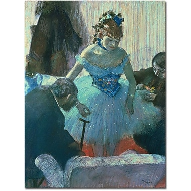 Trademark Global Edgar Degas in.Dancer in her Dressing Roomin. Canvas Art, 32in. x 24in.