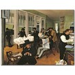 "Trademark Global Edgar Degas ""The Cotton Exchange, New Orleans, 1873"" Canvas Art, 18"" x 24"""