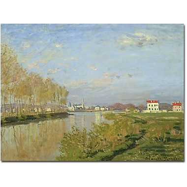 Trademark Global Claude Monet in.The Seine at Argenteuil, 1873in. Canvas Arts