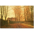 Trademark Global John Atkinson Grimshaw in.Going to Church, 1880in. Canvas Art, 16in. x 24in.