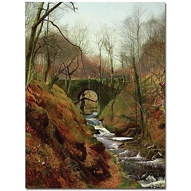 Trademark Global John Atkinson Grimshaw in.March Morningin. Canvas Art, 47in. x 35in.