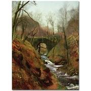 Trademark Global John Atkinson Grimshaw March Morning Canvas Art, 47 x 35