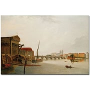 Trademark Global Daniel Turner Westminster Bridge Canvas Art, 16 x 24