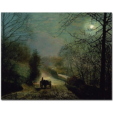Trademark Global John Atkinson Grimshaw in.Gorge Valleyin. Canvas Art, 26in. x 32in.