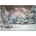 Trademark Global Alwin Arnegger in.Hocheisgruppe, Austriain. Canvas Arts