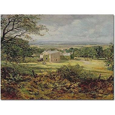 Trademark Global Heywood Hardy in.English Landscapein. Canvas Art, 35in. x 47in.