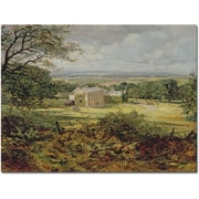"Trademark Global Heywood Hardy ""English Landscape"" Canvas Art, 35"" x 47"""