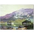 Trademark Global Manuel Barron y Carillo in.Spanish Landscapein. Canvas Art, 18in. x 24in.