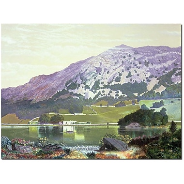 Trademark Global Manuel Barron y Carillo in.Spanish Landscapein. Canvas Art, 35in. x 47in.